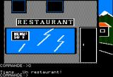 Paranoiak Apple II A restaurant