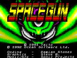 Space Gun ZX Spectrum Title Screen.