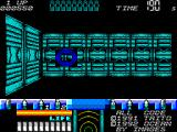 Space Gun ZX Spectrum The majority of the levels are inside space stations.
