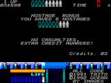 Space Gun ZX Spectrum If you manage to not cause any casualties you are rewarded extra credits.