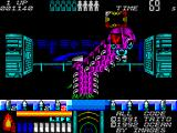 Space Gun ZX Spectrum The first boss is a Centipede type monster.