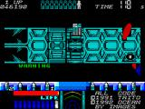 Space Gun ZX Spectrum Shooting the things on the wall gives you much needed health pickups.
