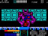 Space Gun ZX Spectrum The fourth boss is a behemoth and takes lots of shot to kill.