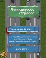Freeway Fury Browser Title screen