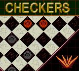 5 in One Fun Pak Game Gear The loading screen for Checkers.