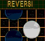 5 in One Fun Pak Game Gear The loading screen for Reversi.