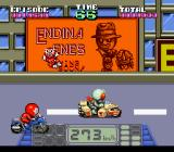 Kamen Rider SD: Shutsugeki!! Rider Machine SNES Taking this fight to the freeway.