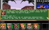 Realms of Arkania: Blade of Destiny DOS [English Version] Texts are reasonably well translated from German.