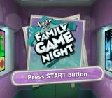 Hasbro Family Game Night PlayStation 2 Title screen.