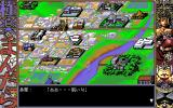Gokuraku Mandala PC-98 The map of the town