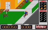 Paperboy Atari ST Delivering papers...