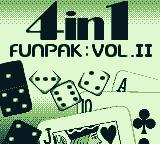 4-in-1 Funpak: Volume II Game Boy Title screen