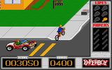 Paperboy Atari ST Watch out for cars...