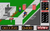 Paperboy Atari ST Obstacles on your route