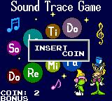 Tempo Jr. Game Gear After finishing a level, we can play a mini game to win bonuses, if we found any coins the completed level before.
