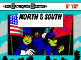 North & South ZX Spectrum Title Screen.