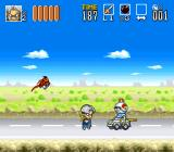 Go Go Ackman 3 SNES Ackman's on the run from the law.