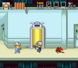 Go Go Ackman 3 SNES Ackman makes good his escape.