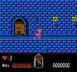 Disney's Beauty and the Beast NES Start of a new game