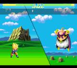 Dragon Ball Z: Super Butōden 3 SNES Can fight in the air or on the ground