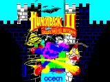 Hunchback II: Quasimodo's Revenge ZX Spectrum Splash screen