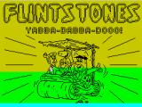 Yabba Dabba Doo! ZX Spectrum This screen displays while the game is loading