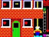 Popeye ZX Spectrum He's been upstairs and has collected a key, now he's going down