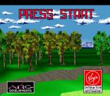 World Masters Golf SNES Title screen