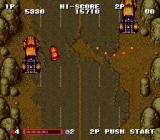 Gekitotsu Dangan Jidōsha Kessen: Battle Mobile SNES After they run out of those they attempt to shoot or ram you.