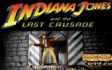 Indiana Jones and the Last Crusade: The Action Game Atari ST Title screen