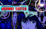 Cybernetic Hi-School Part 2: Highway Buster PC-98 Title screen