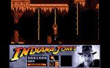 Indiana Jones and the Last Crusade: The Action Game Atari ST Climbing ropes