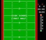 10-Yard Fight NES Starting the game