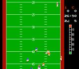10-Yard Fight NES My receiver is in trouble...