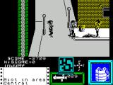 Death Wish 3 ZX Spectrum Fighting the street punks outside.