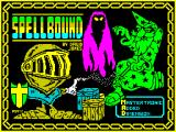 Spellbound ZX Spectrum Loading Screen.