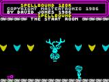 Spellbound ZX Spectrum You start out in the aptly name Start Room.