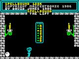 Spellbound ZX Spectrum Use the lift to go up and down floors.