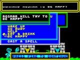 Spellbound ZX Spectrum When you get the Rod of Commanding you can use it on NPCs.