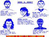 Friday the 13th ZX Spectrum The characters back stories.