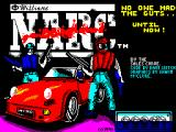NARC ZX Spectrum The Loading Screen.
