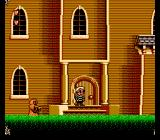 The Addams Family: Pugsley's Scavenger Hunt NES Starting the game