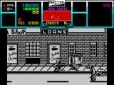 NARC ZX Spectrum Level 2 sees you fighting through another street.