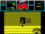 NARC ZX Spectrum The boss is destroyed after a lot of hard work.
