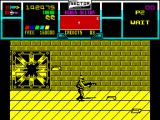 NARC ZX Spectrum Collect the boss' gold bar for more points.