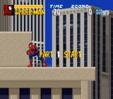 The Amazing Spider-Man: Lethal Foes SNES Time to save the city.