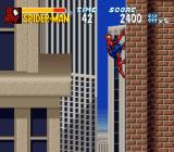 The Amazing Spider-Man: Lethal Foes SNES Hang'n out.