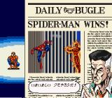 The Amazing Spider-Man: Lethal Foes SNES Stage Cleared.