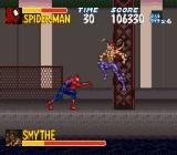 The Amazing Spider-Man: Lethal Foes SNES With all these Spider-Slayers wandering around Smythe was bound to show up sooner or later.