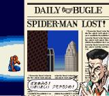 The Amazing Spider-Man: Lethal Foes SNES Game Over